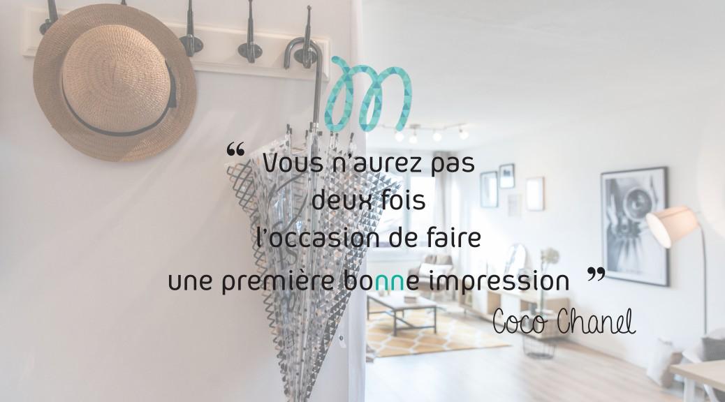 Citation Coco Chanel vous n'aurez pas deux fois l'occasion de faire une première bonne impression