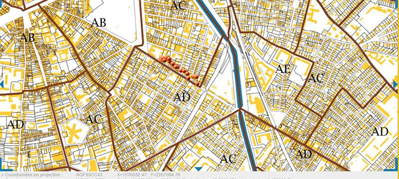 Plan cadastral toulouse l'immovation