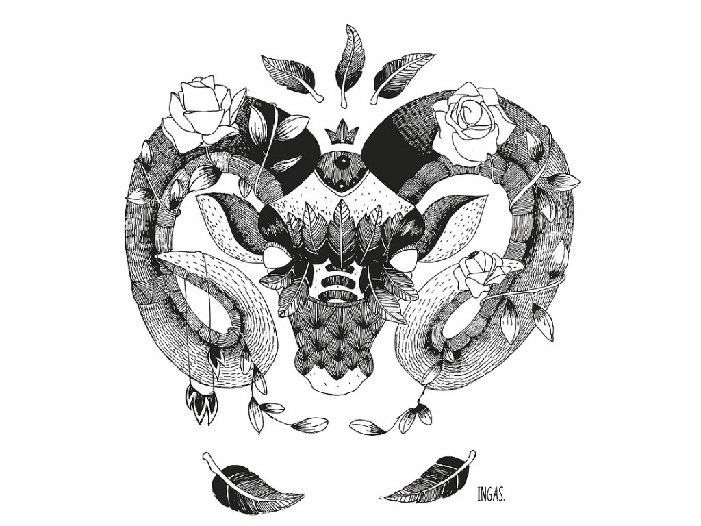 Créateurs toulousains Ingas illustratrice