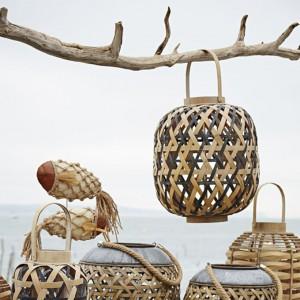 fête des mère lanterne-en-bambou et métal